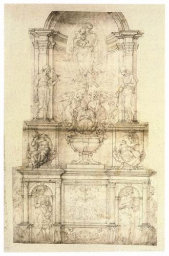 Tombeau Jules II dessin.jpg