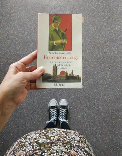 une étude en rouge,arthur conan doyle,sherlock holmes,roman policier,enquête,meurtre
